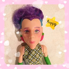 Not so Sour Grapes (TiffyGH) Tags: strawberryshortcake sourgrapes repaint customdoll