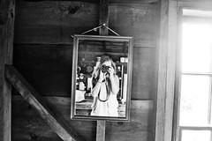 The Beach Hut (mmockingbird) Tags: beach cape cod provincetown mirror girl wood dune shack window