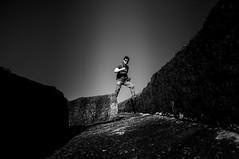 Power shot (Richard Mart1n) Tags: monochrome blackandwhite black white travel waverock abstract art nikon d5000