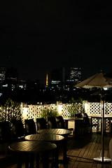 Tokyo night view from terrace Ristorante Venire Venire 18 (HAMACHI!) Tags: tokyo 2016 japan autumn food diner italian ristorantevenirevenire restaurant ristorante harajuku omotesando tokyotower sky night light terrace ym ymsquareharajuku