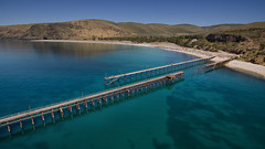 Rapid Bay from the jetty 3 (leemerchant) Tags: rapidbay southaustralia oldjetty fishing diving
