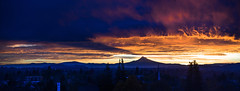 at least the view is nice II (sebboh) Tags: carlzeisscontaxg90mmf28sonnar sonya7 zeissleicafrankenlens dawn sunrise mthood shadow storm portland oregon pdx cityscape landscape panorama stitch