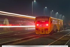 814.093-1 | Os14235 | trať 331 | Lípa nad Dřevnicí (jirka.zapalka) Tags: train trat331 czech night stanice autumn lipanaddrevnici os rada814914 cd
