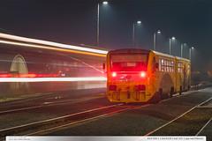 814.093-1   Os14235   tra 331   Lpa nad Devnic (jirka.zapalka) Tags: train trat331 czech night stanice autumn lipanaddrevnici os rada814914 cd