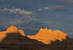 Last sunlight in Badlands National Park - IMG_4570 (Vincent Wildlife) Tags: usa america landscape badlands