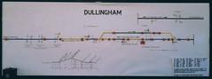 Dullingham (P Way Owen) Tags: dullingham signalbox diagram