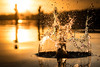 Impact (--Conrad-N--) Tags: kurort bad saarow sony scharmützelsee see lake splash impact sunset water wave drops reflection bokeh fe55 hq 4k