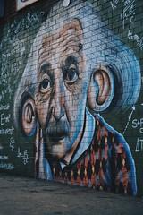 Einstein (nateblais) Tags: newyorkcity nyc brooklyn bushwick painting art alberteinstein einstein