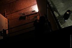 Dancing on Rooftops (Marco Cobain) Tags: roof night rooftops walk run nightlife bremen ontherun