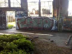 (humble--rudeboy) Tags: sanfrancisco california graffiti style spraypaint exploration osho urbex trainhouse esho