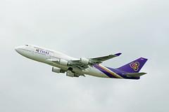 HS-TGX (G Gibson) Tags: london heathrow international thai boeing airways 747 hstgx