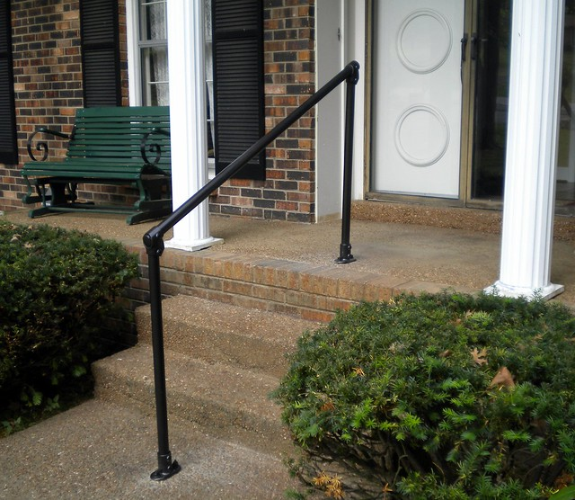 Railing Made With Kee Klamp Pipe Fittings Image Gallery