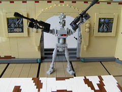 Those Meddlin' Droids... (Simply Complex Simplicity) Tags: scale star force lego chief halo master wars brute tatooine ig88 miniland