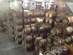 Reta Winery Stock Room