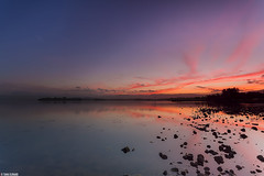 Today's Sunset .. (Taha Elraaid) Tags: sunset sky lake color beautiful canon amazing image some australia nsw 7d finally taha wollongong illawarra     elraaid   tahaphotography tahaelraaid