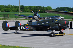 C-GZCE (BAE) (Steelhead 2010) Tags: beechcraft bae c45 d18 yhm cwhm cgzce