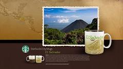 Starbucks City Mug El Salvador Desktop Wallpaper (Magic Ketchup) Tags: starbucks mug elsalvador desktopwallpaper citymugs 2008series