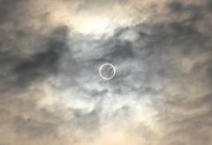 Solar eclipse, Japan, 日本, 金環日食