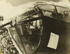Tascher_00137 (San Diego Air & Space Museum Archives) Tags: williamtascher b25 mitchell sdsu 341stbombgroup 491st usaaf nosegun m2browning browningm2 50bmg madeuce worldwarii wwii ww2 secondworldwar aviation aircraft airplane militaryaviation bomber northamericanaviation northamerican naa northamericanb25mitchell northamericanb25 northamericanmitchell b25mitchell mitchellbomber wrightaeronautical wright wrightr2600twincyclone wrighttwincyclone wrightr2600 r2600 twincyclone