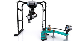 GLaDOS' Chamber (Lego Junkie.) Tags: digital lego science more potato valve cubes custom turrets wheatley spaaaaaaace spaaaace