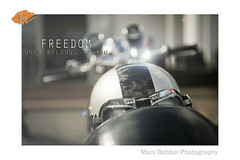Freedom (~FreeBirD~) Tags: uk india reflection art history real freedom slow seat helmet goggles norton story chrome triumph motorcycle handlebar sunrays speedometer motorcyclediaries epic caferacer triton slower freebird faster oldbike philosphy halycon classicbike classicbikes deadart britishclassic manibabbarphotography