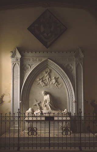 Stanford on Avon, Northamptonshire, monument to Sarah Baroness Braye †1862