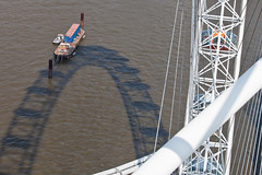 London Eye (ed 37 ~~) Tags: greatbritain england sun london water wheel thames canon londoneye bluesky sunnyday ef70200mmf4lisusm canoneosd canoneos5dmarkii