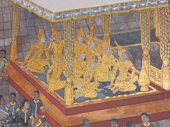 Artwork (Connie Churcher) Tags: travel bird thailand temple bangkok buddha royal jade grandpalace temples emerald emeraldbuddha phraborommaharatchawang grandpalacetemples