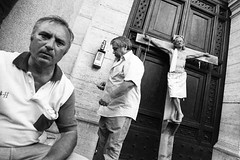 Crucifixion  Rome by Giulio Napolitano (Urban Picnic Street Photography) Tags: street rome photography photo crucifixion giulio  napolitano