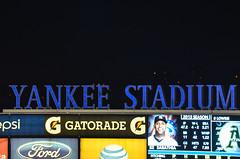 Yankee Stadium sign (m01229) Tags: nyc night bronx yankees yankeestadium mlb nyy d5100