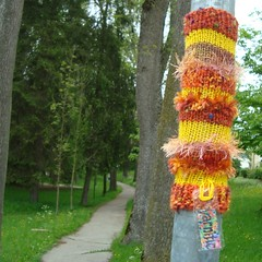 somewhere in Bavaria (yarnitic) Tags: bayern bavaria knitting yarn guerilla guerrilla guerillaknitting guerrillaknitting yarnbombing yarnbomb