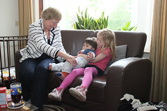 Mo 20-May-2013: Visiting Yvonne and Milan in Sneek (NL) (tensink) Tags: milan yvonne danique sjoukje 2013 201305