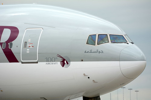 QATAR BOEING 777/2 100TH ?