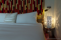 Away double bed decoration (Qualterio) Tags: hotel bedroom singapore away sg whotel sentosaisland designhotel wsingapore roomtype