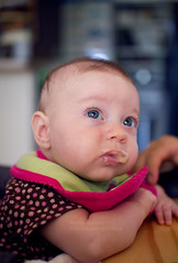 (lindilindi) Tags: food baby cute girl infant eating spoon liliana modelreleased