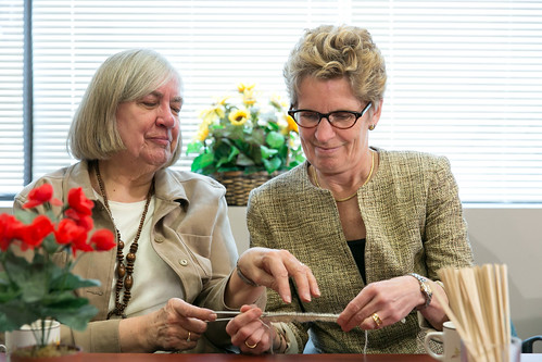 Premier Wynne's Press Conference - 140 Merton - April 2013 (9)