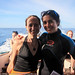 Celine Cousteau and I Scuba Diving at Kicker Rock - San Cristobal, Galapagos