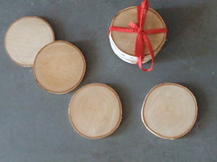 white paper birch coasters (prettydreamer.workshop) Tags: waldorf birch coasters birchbark ecofriendly naturetable naturalhome