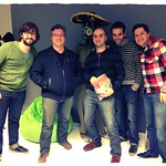 @oboxodo from Neo visiting @tryolabs HQ. Thanks Diego for your time!