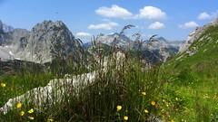 An der Torscharte im Karwendel (Uli - www.auf-den-berg.de) Tags: tirol berge alpen wandern wanderung karwendel