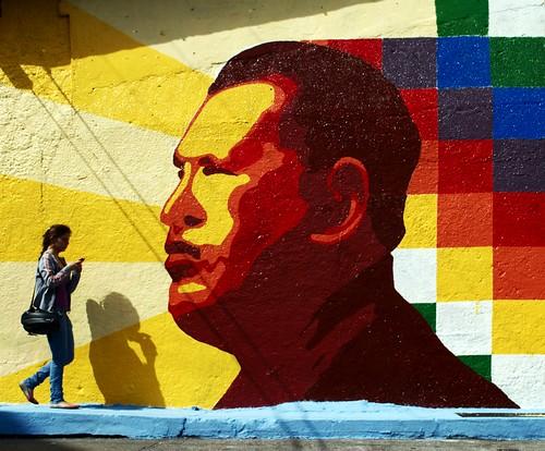From flickr.com: Hugo Chavez Revolutionary Bolivarian Movement {MID-142808}