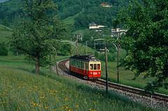 Gmunden, Austria, in 1980 (Keith Halton) Tags: austria tram stern gmunden hafferl