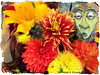 Fancy Flower Fun........ August 17, 2013 (gailpiland) Tags: face fun photoart hypothetical vividimagination artdigital fancyflowers theperfectphotographer awardtree gailpiland netartii