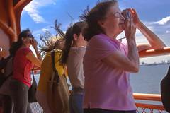 (Michelle Rick) Tags: ocean street camera nyc newyorkcity bridge portrait urban newyork ferry skyline canon hair landscape boat women scenery cityscape wind manhattan si sightseeing streetphotography teen 7d teenager newyorkskyline gothamist railing statenisland statenislandferry allrightsreserved statueoflibery canon7d michellerick 2013 wwwmichellerickcom poetdemupsp curatleg