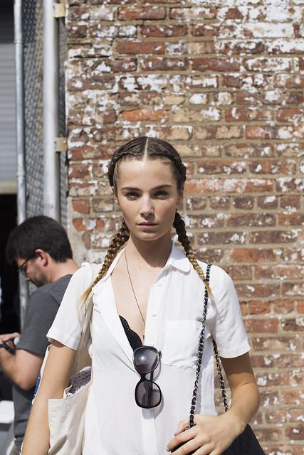 model newyorkfashionweek kennethcole streetstyle nyfw laurenbeck laurenbeckphotography