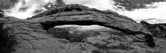 (Patrick Hawks) Tags: sunset blackandwhite white black utah nikon panoramic canyon canyonlandsnationalpark canyonlands d800