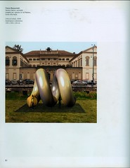 2009 -SCULTURA NELLA CITTA'-PROGETTI PER MILANO
