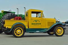 1930 Ford pickup (skyhawkpc) Tags: 2013 kftg ftg frontrangeairport watkins colorado co nikon allrightsreserved garyverver drosselmeyerimp 1930 ford pickup truck johndeere vehicle