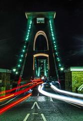 Clifton Suspension Bridge  At Nite