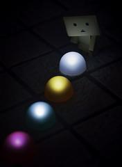 Danbo7 (jessylein1) Tags: japan lights tokyo ginza olympus tokio danbo danboard omdem5